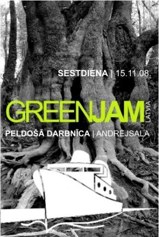 Green Jam Latvia 2008