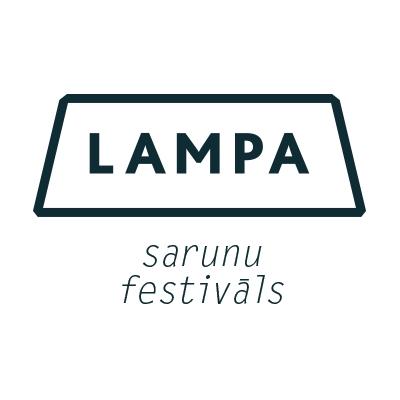 sarunu festivāls LAMPA logo